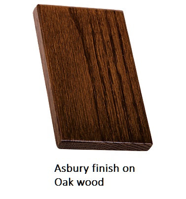 Asbury finish on Oak wood