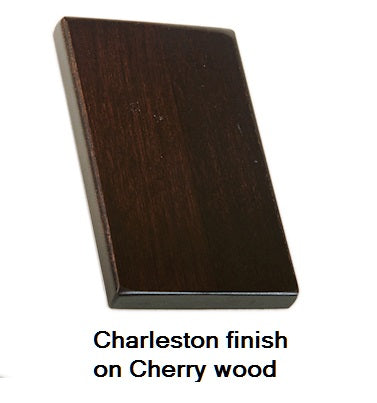 Charleston finish on Cherry wood
