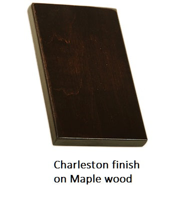 Charleston finish on Maple wood