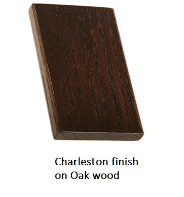 Charleston finish on Oak wood
