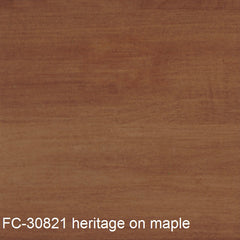 FC-30281 heritage stain finish shown on maple