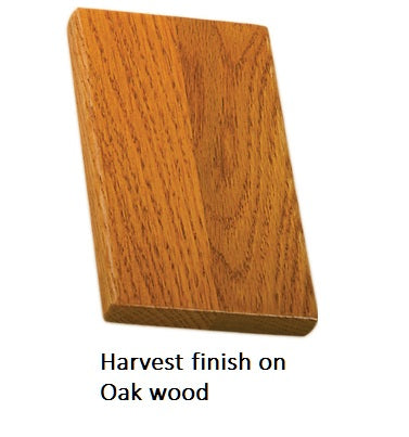 Harvest finish on Oak wood