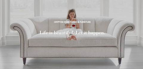Let Life Happen - Crypton Home Fabrics