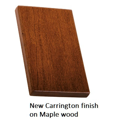 New Carrington finish on Maple wood