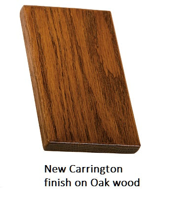 New Carrington finish on Oak wood