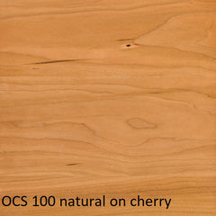 OCS 100 natural finish on cherry