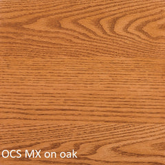 OCS MX finish shown on oak