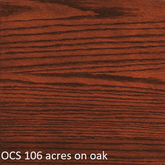 OCS 106 acres finish shown on oak