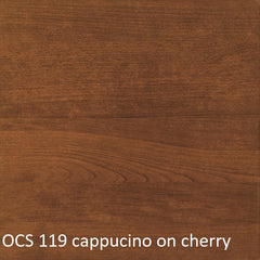 OCS 119 capuccino finish shown on cherry