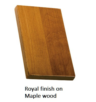 Royal finish on Maple wood