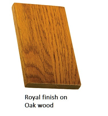 Royal finish on Oak wood
