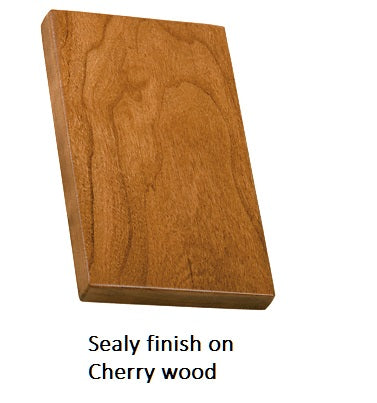 Sealy finish on Cherry wood