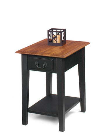 Belgrade Rectangular End Table - Two Tone, Default Title, Occasional Tables - Endicott Home Furnishings