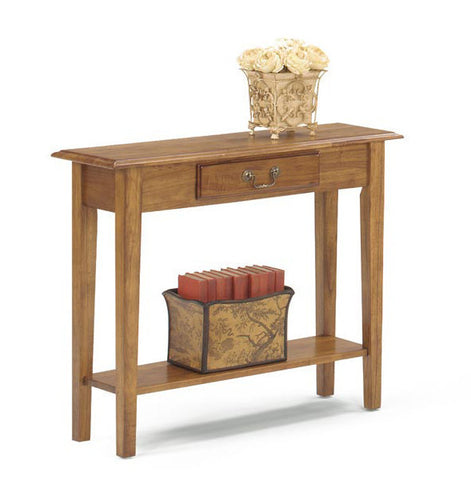 Belgrade Sofa Console Table - Oak, , Occasional Tables - Endicott Home Furnishings