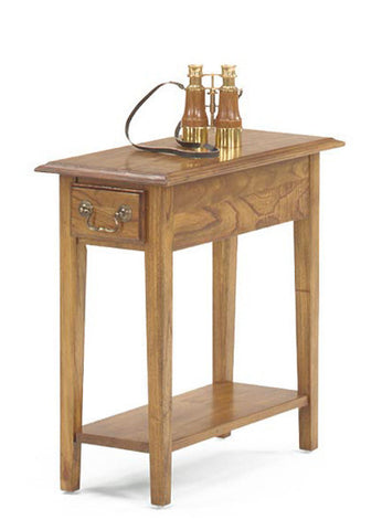 Belgrade Chairside End Table - Oak, , Occasional Tables - Endicott Home Furnishings