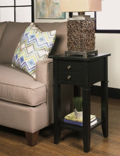 Belgrade Occasional Stand - Black, , Occasional Tables - Endicott Home Furnishings