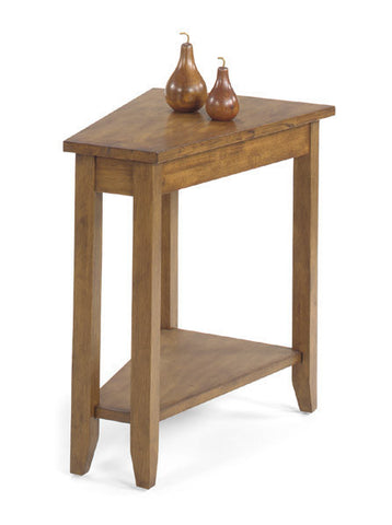 Belgrade Wedge Table - Oak, , Occasional Tables - Endicott Home Furnishings