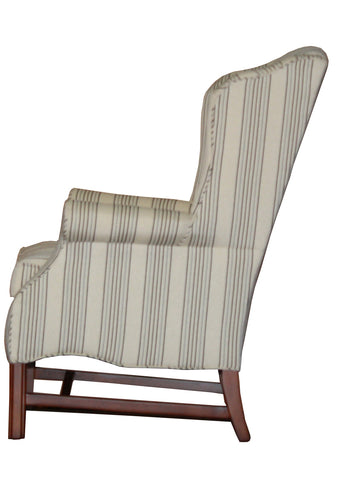 Cozy and Supportive Smaller Carmel Wing Back Chair