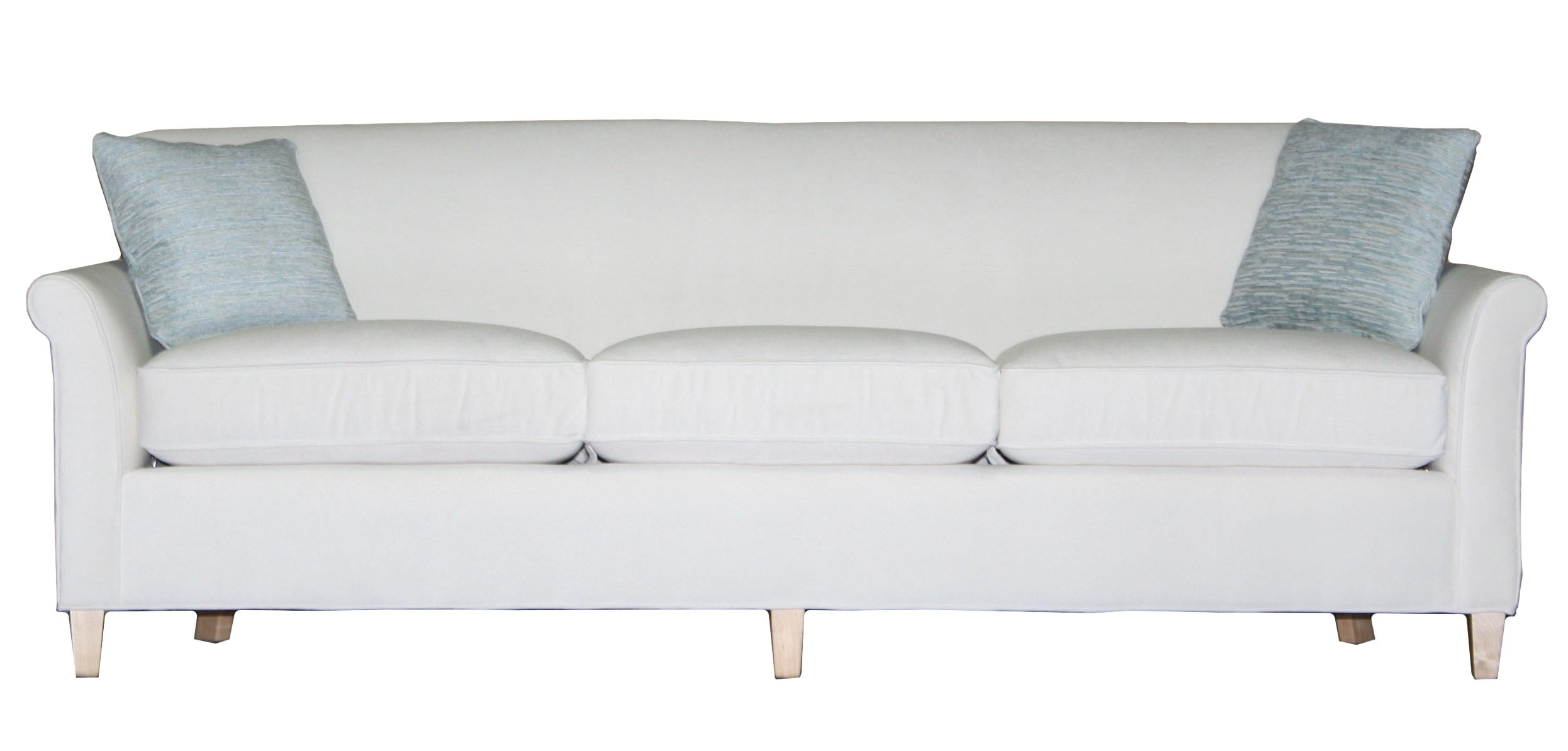 Fisher Non Toxic Longer Condo Sofa From Endicott Home In Maine   01