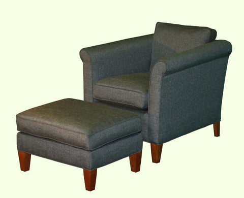 Piper Chair and Ottoman set - Showroom Model, , Showroom Models - Endicott Home Furnishings - 1