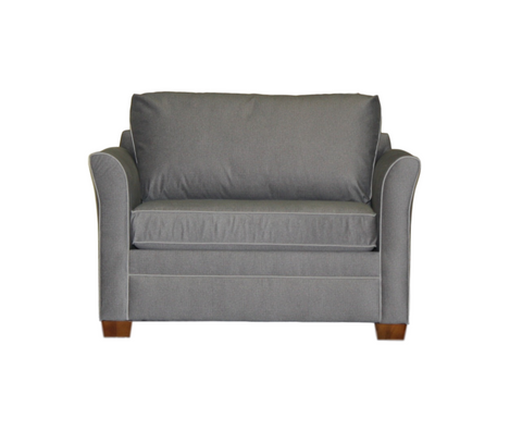 Christy Chair and half sleeper - Showroom Model Sofa