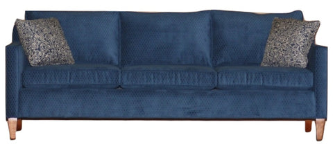 Freeman Longer Condo Sofa: supportive, clean non-toxic style. Designed and made just for Endicott Home, Portland Maine's first eco friendly furniture store.