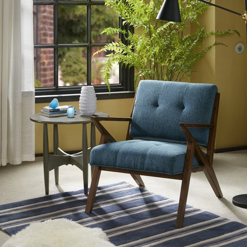 Sprocket Chair non-toxic mid-century modern design blue 05