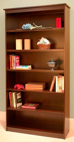 Candler Amish built maple bookcase