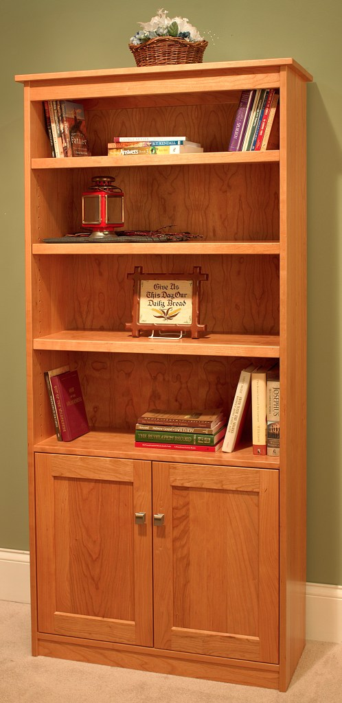 Candler 80 Tall Bookcase With Doors
