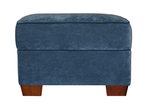 ottoman for cozy Christy sofa ideal for smaller living spaces 1