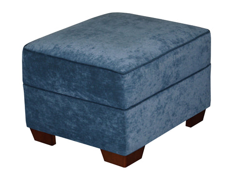 ottoman for cozy Christy sofa ideal for smaller living spaces 2