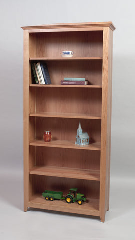 Doughty Ridge Open Bookcase, ,  - Endicott Home Furnishings