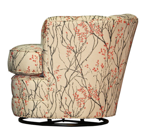Non-toxic Sami Swivel Tub Chair - Endicott Home Furnishings - 4