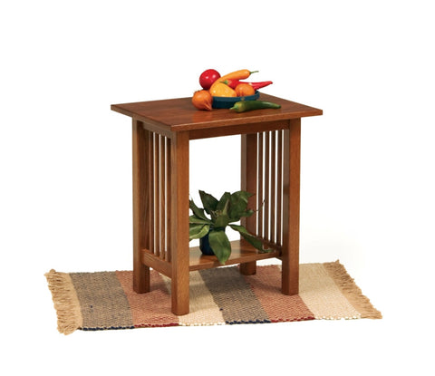 The Alamo Mission Small End Table, , Occasional Table - Endicott Home Furnishings