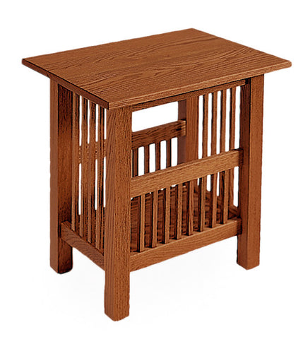 The Alamo Mission Small End Table in Solid Maple, , Occasional Table - Endicott Home Furnishings