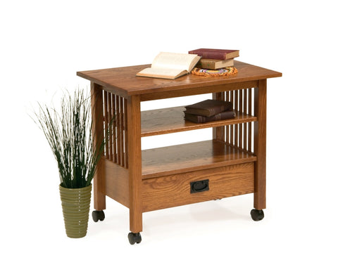 The Alamo Mission One Drawer Server Cart, , Occasional Table - Endicott Home Furnishings