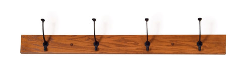 The Alamo Mission Four Hook Hallway Hat Rack, ,  - Endicott Home Furnishings