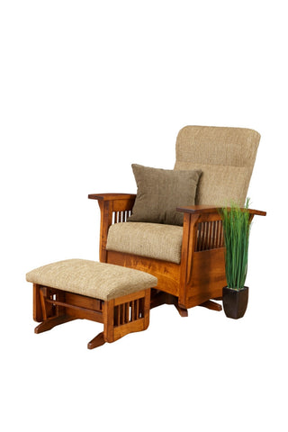 The Alamo Mission  Sam's glider ottoman Maple, , Ottoman - Endicott Home Furnishings - 1
