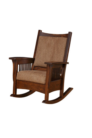 The Alamo Mission Sam's Rocker, , Chair - Endicott Home Furnishings