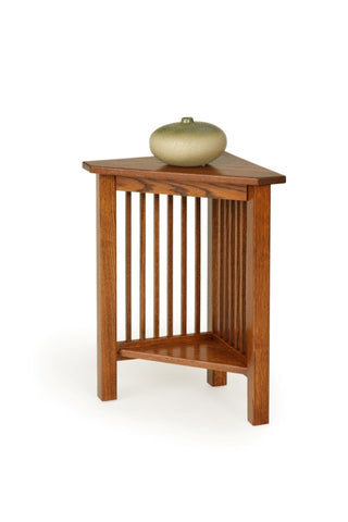 The Alamo Mission Small Corner Table, , Occasional Table - Endicott Home Furnishings