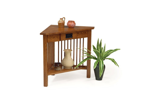 The Alamo Mission Corner Table, , Occasional Table - Endicott Home Furnishings