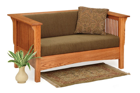 The Alamo Mission Davy's Club Loveseat, , Sofas - Endicott Home Furnishings