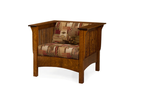 The Alamo Mission Davy's Club Chair, , Loveseat - Endicott Home Furnishings