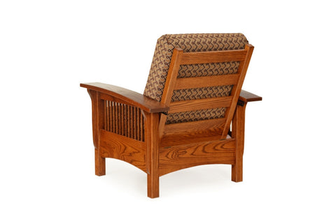 The Alamo Mission Sam's Morris Chair Maple, , Ottoman - Endicott Home Furnishings