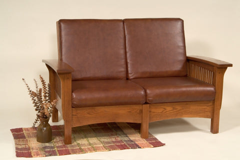 The Alamo Mission Sam's Loveseat, , 0 - Endicott Home Furnishings - 1