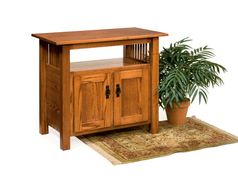 The Alamo Mission Entertainment Center, , Occasional Table - Endicott Home Furnishings