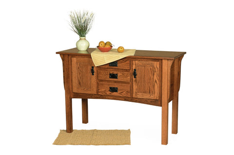 The Alamo Mission Two Door Sideboard, , Occasional Table - Endicott Home Furnishings