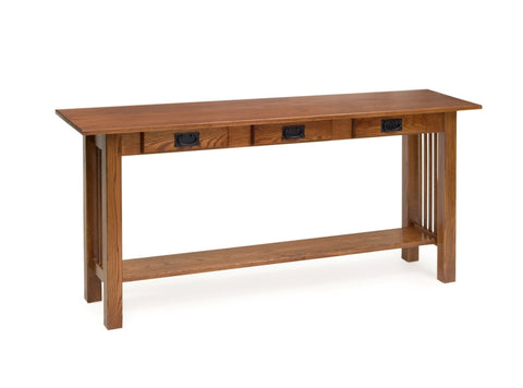 The Alamo Mission Three Drawer Server Table, , Occasional Table - Endicott Home Furnishings