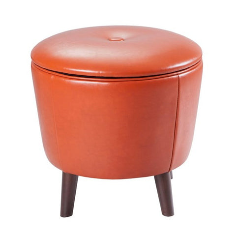 Jetsons Small Round Storage Ottoman, , Ottoman - Endicott Home Furnishings - 3