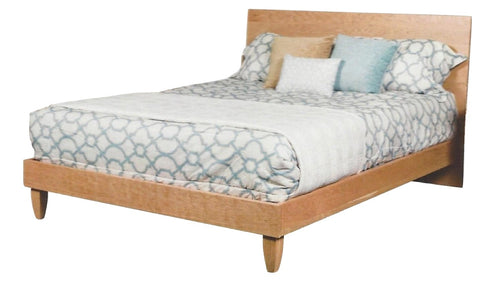 Cold Spring Solid Hardwood Mid-Century Modern Style Bed from Endicott Home Furnishings in Maine - 1